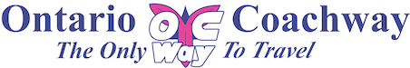 Ontario Coachway – Airport Service, Charters, Wine and Beer Tours Logo